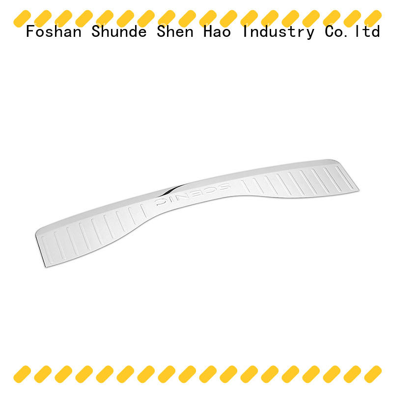 ShenHao Wholesale rear bumper guard stainless steel for vehicle