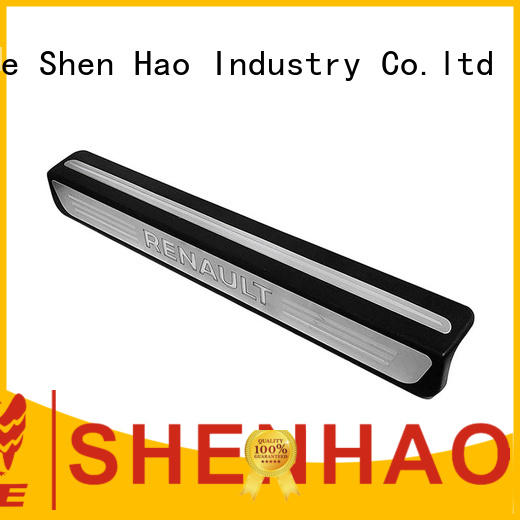 renault door sill plate with led light for SUV ShenHao