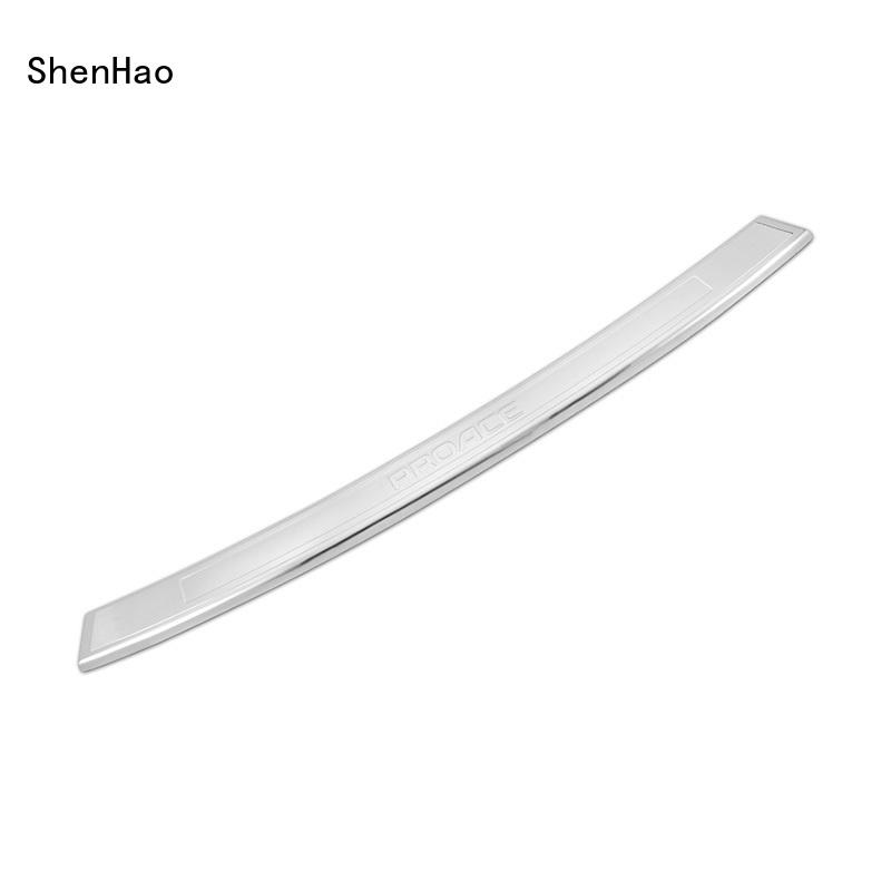 stainless steel car rear bumper guard design factory for Renault