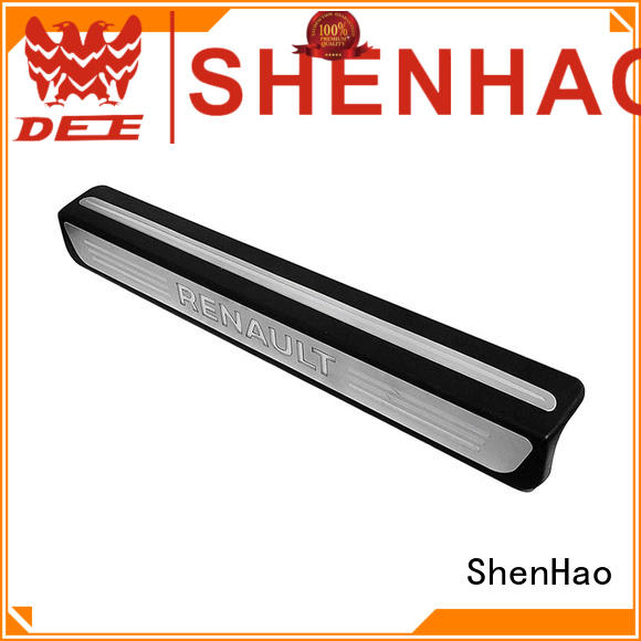 ShenHao guards car door sill with led light for truck