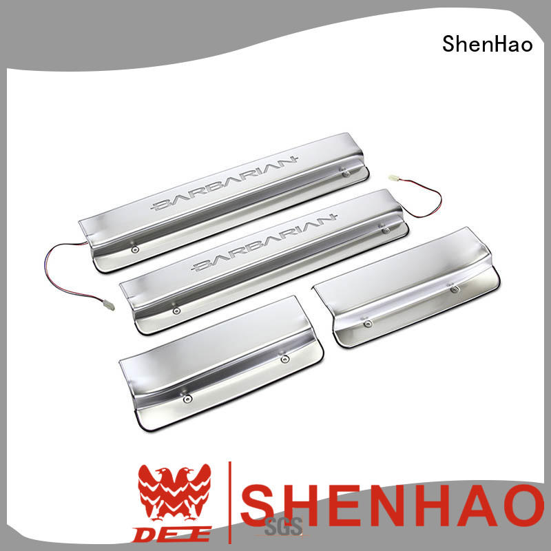 Top led door sill renault for vehicle