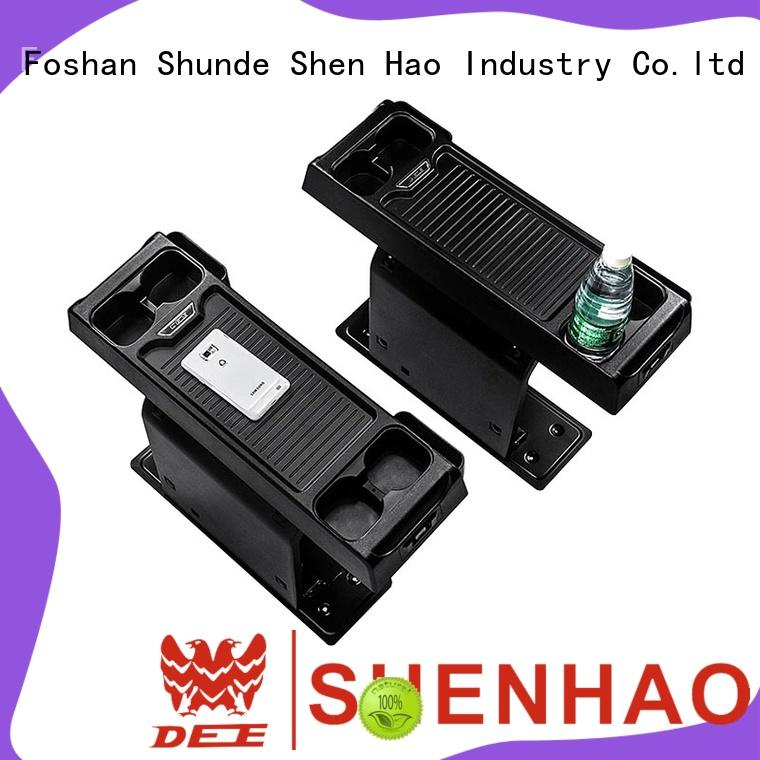 ShenHao elegant universal center console with light for SUV