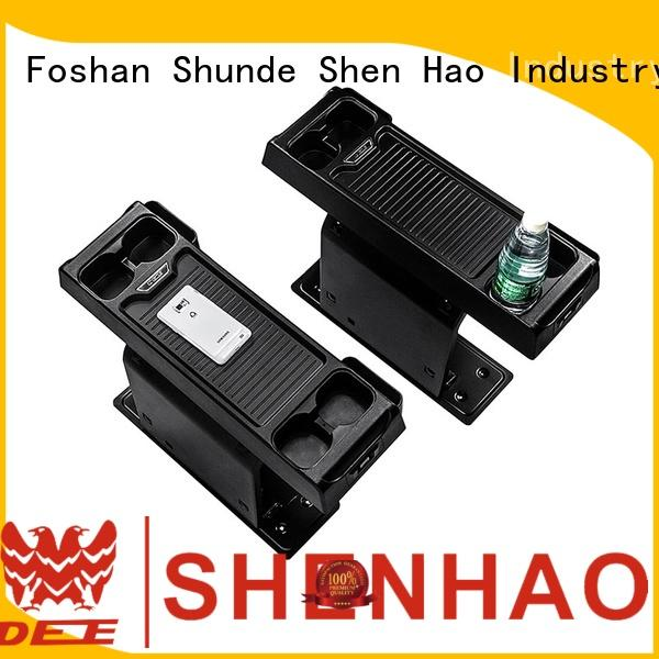 ShenHao foldable console box with light for Honda Elysion