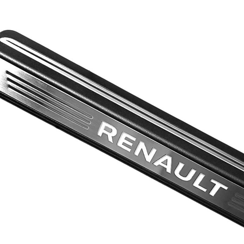 ShenHao car stainless steel door sills For Renault for vehicle-2