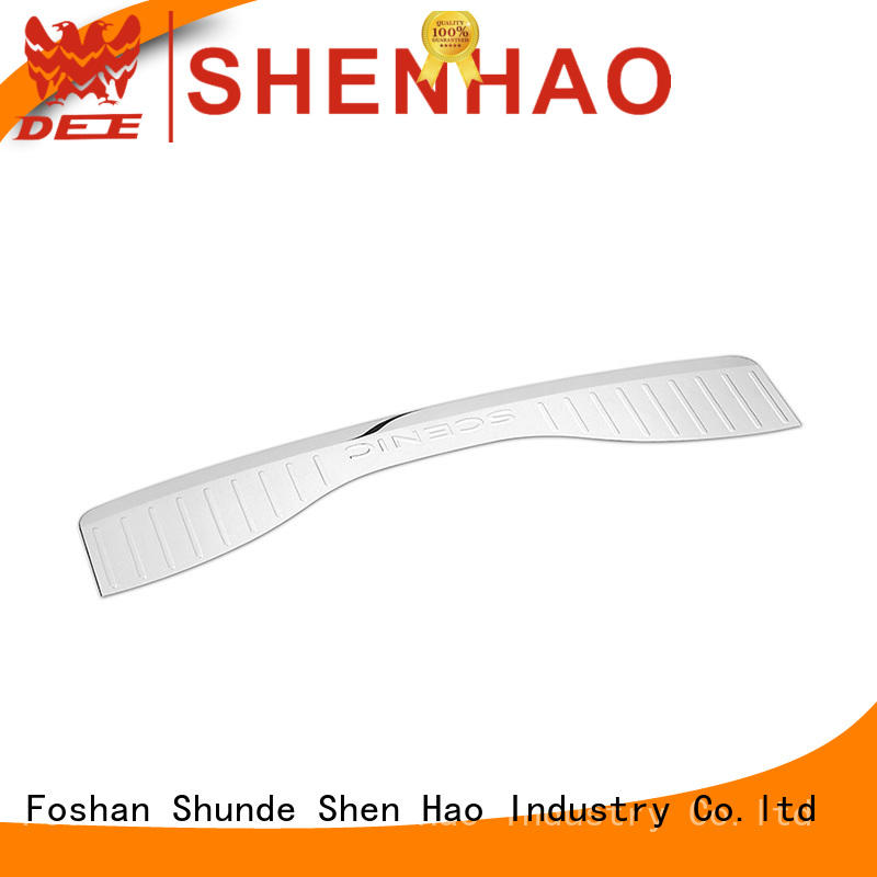 high quality rear bumper scratch protector oem for bus