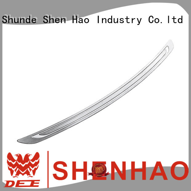 ShenHao stainless steel rear bumper guards supply for car
