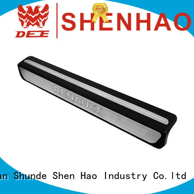 ShenHao entry door scuff plate Supply for Mitsubishi