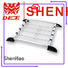 Aluminum auto luggage carrier for van
