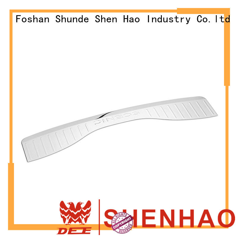 customized universal rear bumper protector guards company for Van