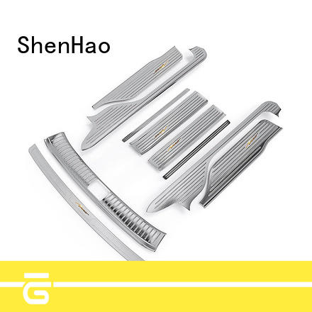 ShenHao customized auto door sill guards Supply for Mitsubishi