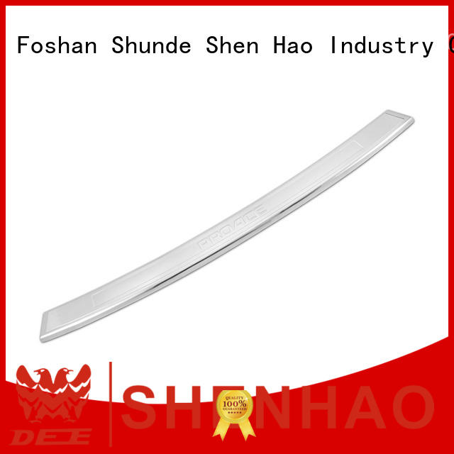 ShenHao polished rear bumper protector for Toyota for car