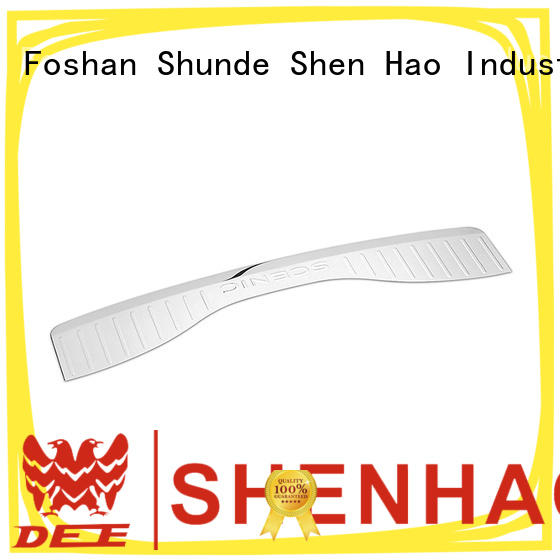 ShenHao Best rear bumper step protector for car