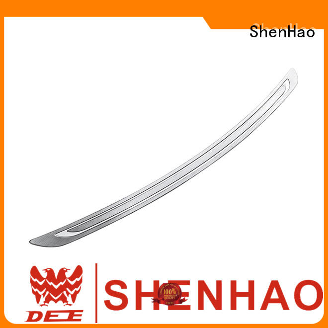 stainless steel rear bumper guards rear for Mazda