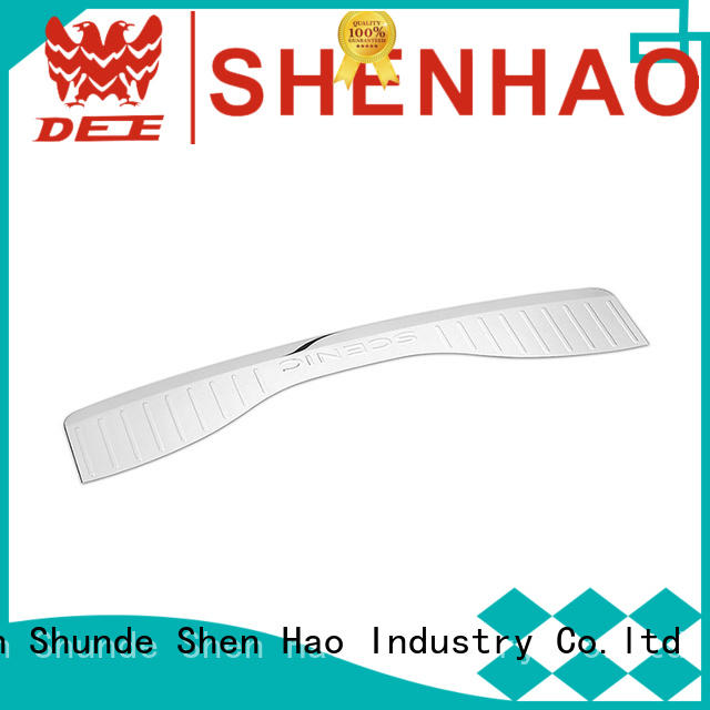OEM Item Polished Stainless Steel Rear Bumper Protector for Renault