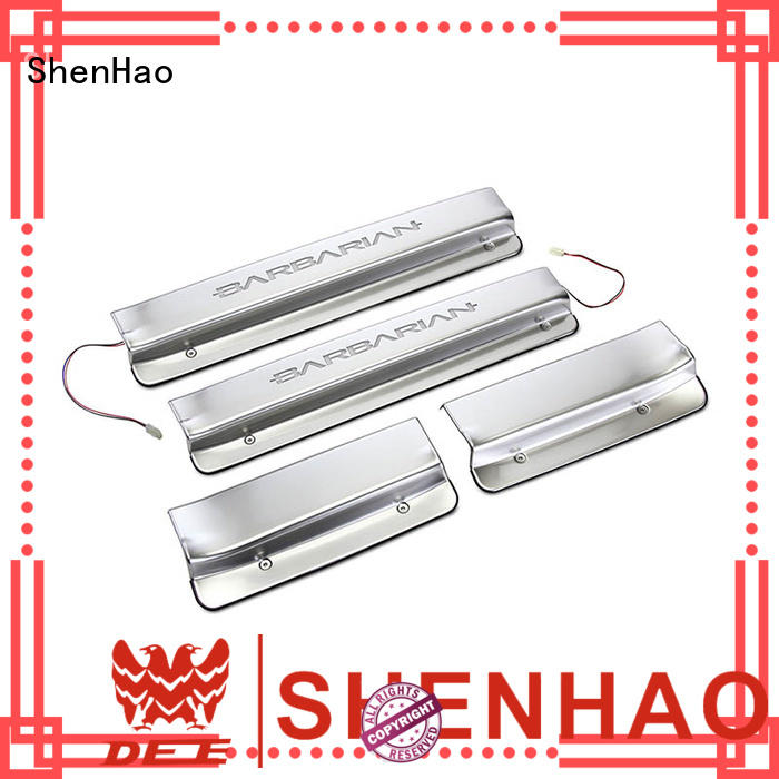 ShenHao elegant Door Sills with led light for truck