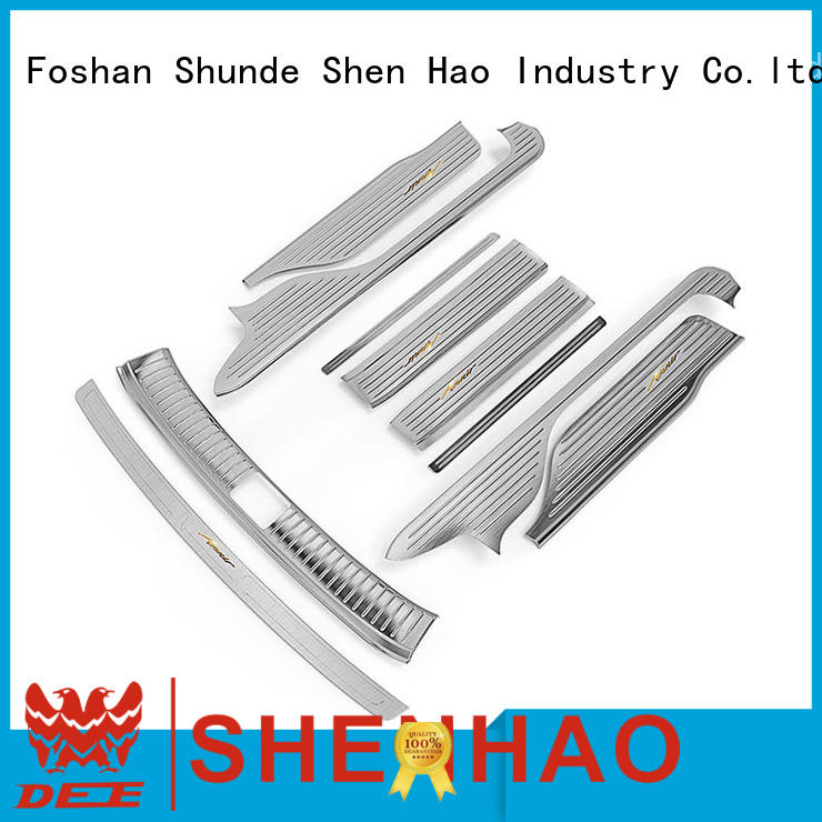 ShenHao led car door sill plate factory for vehicle