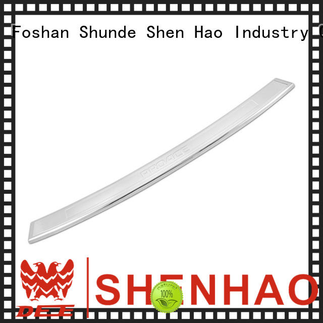 ShenHao New rear bumper sill protector for business for Toyota